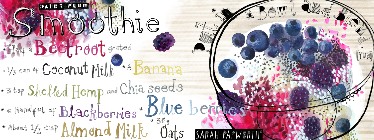 illustrated dairy free berry smoothie sarah papworth.jpg
