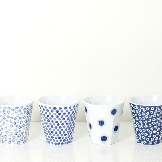 Hand-painted decals on melamine