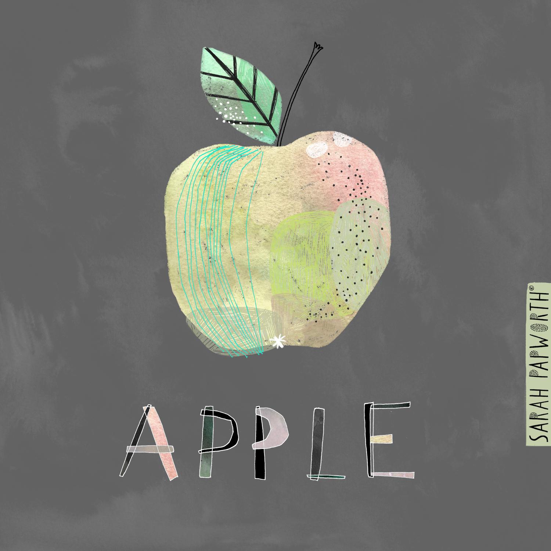 apple food illustration fruit editorial art sarah papworth design.jpg