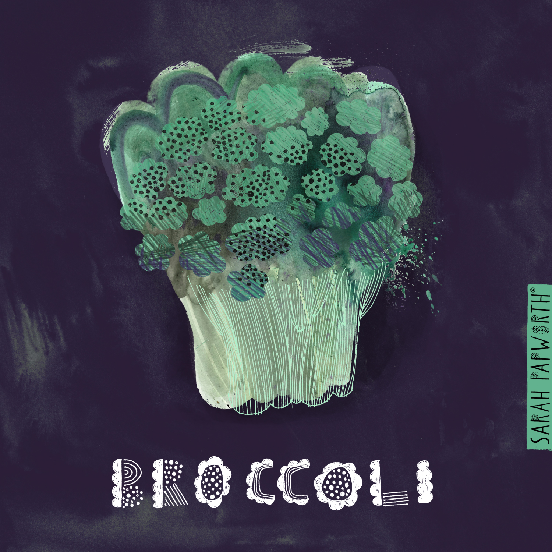 broccoli vegetable illustration editorial art sarah papworth.jpg