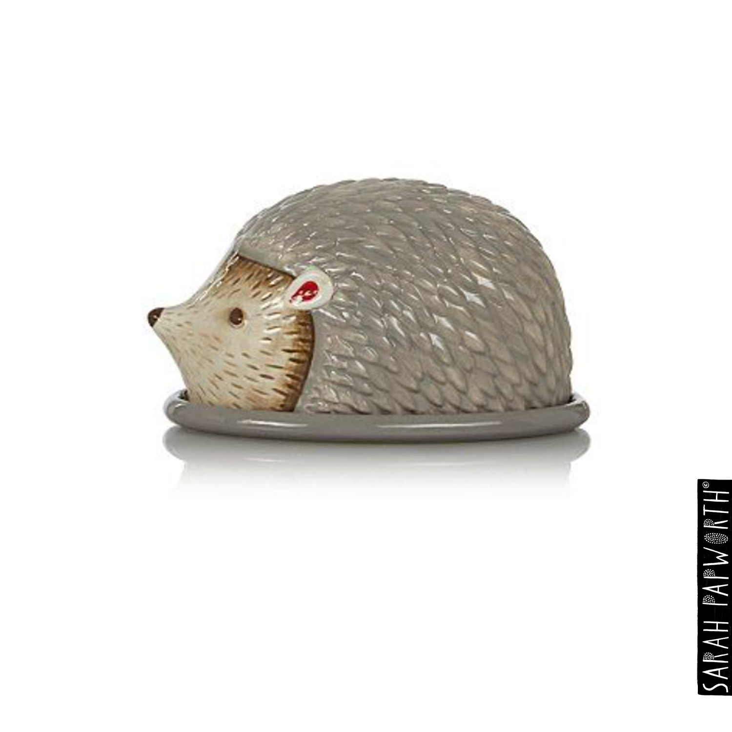 Hedgehog butter dish