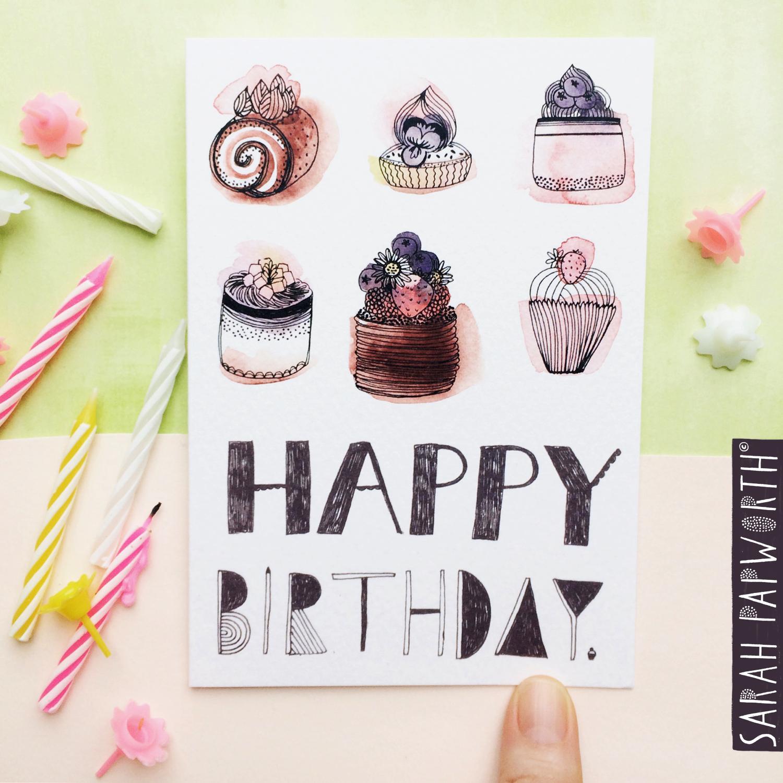 happy birthday greeting card designs sarah papworth.jpg