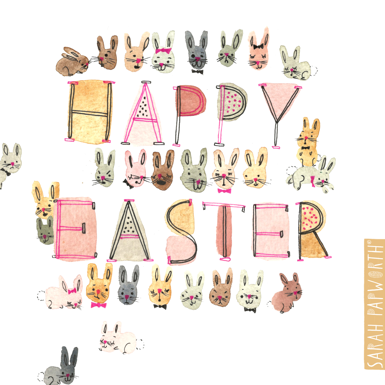 watercolour bunnies easter card design by sarah papworth surface pattern designer.jpg