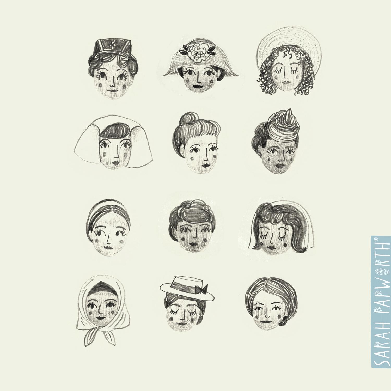 ellis island hairstyles faces illustrated sarah papworth.jpg