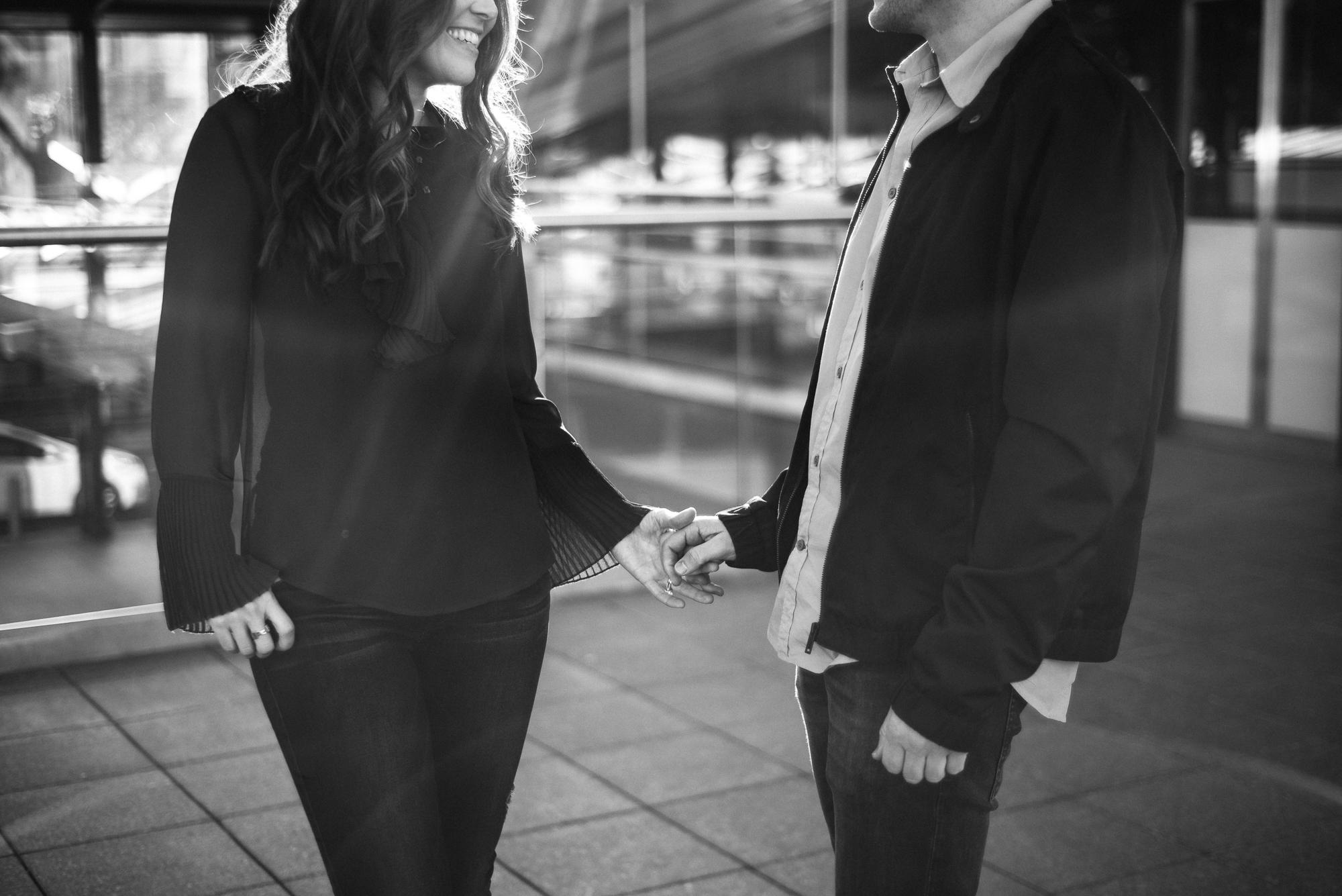 The Rocks, Sydney engagement photo shoot
