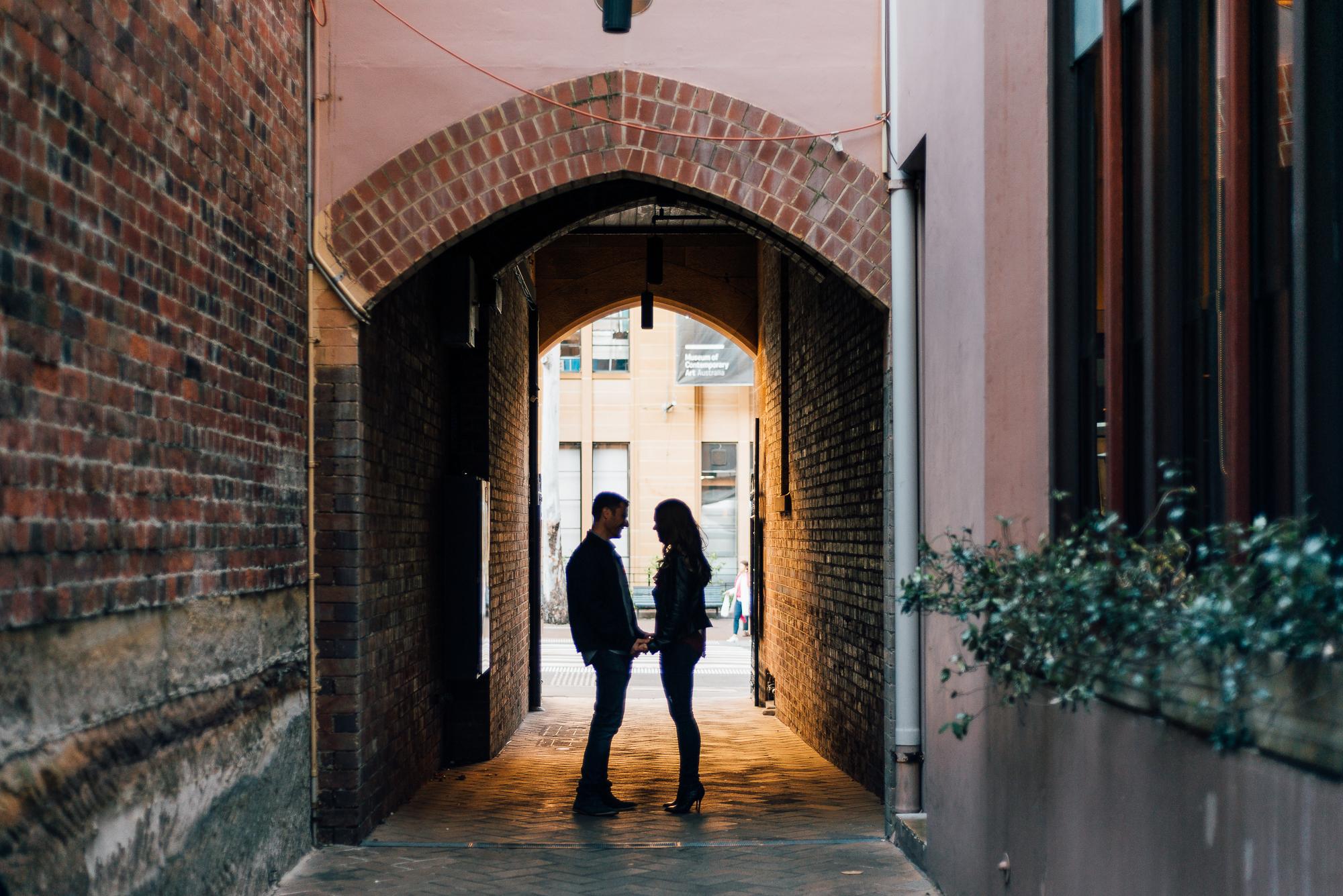 The Rocks, Sydney - Engagement