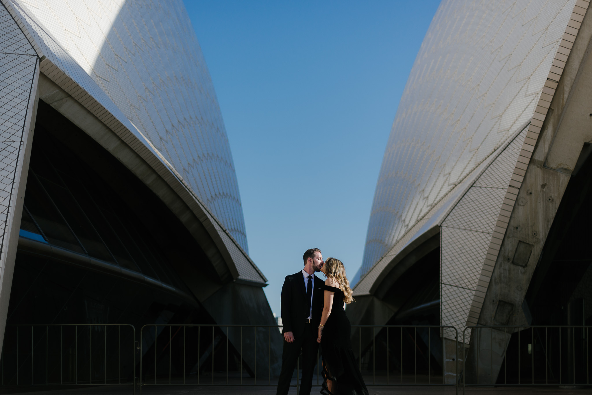 Iconic Engagement Shoot at the Sydney Opera House