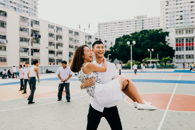 Engagement Shoot in Hong Kong