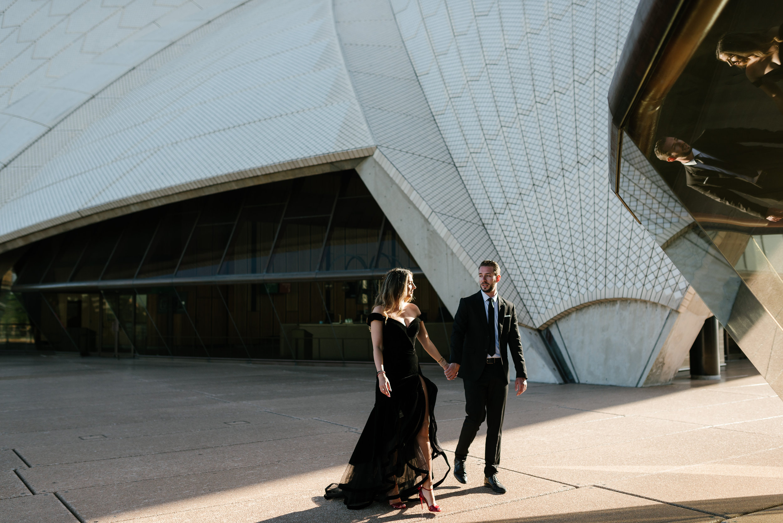 These two celebrated their engagement with an epic trip to Australia -