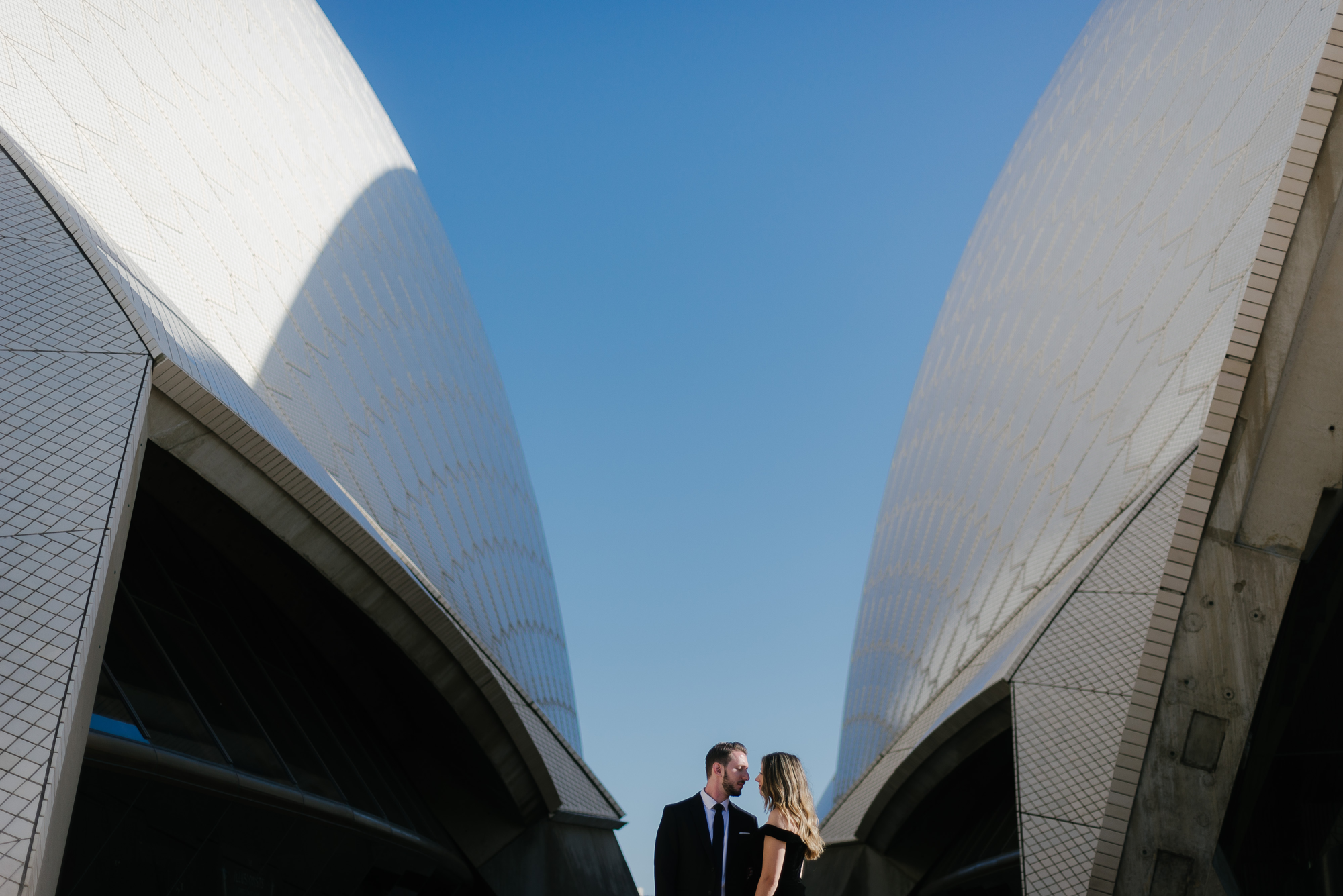 Iconic Sunrise Engagement Session