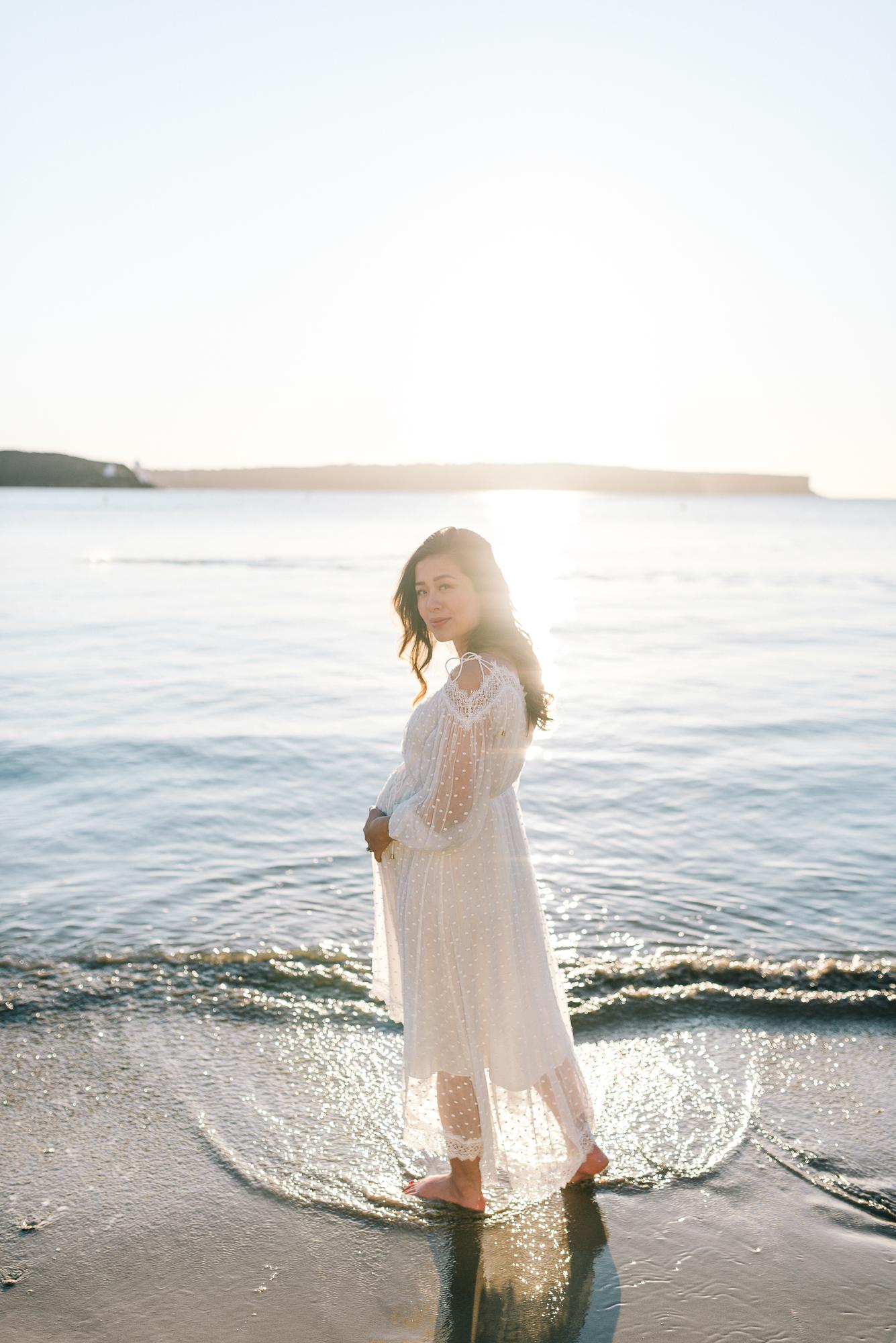 Balmoral Beach Sunrise Maternity Shoot