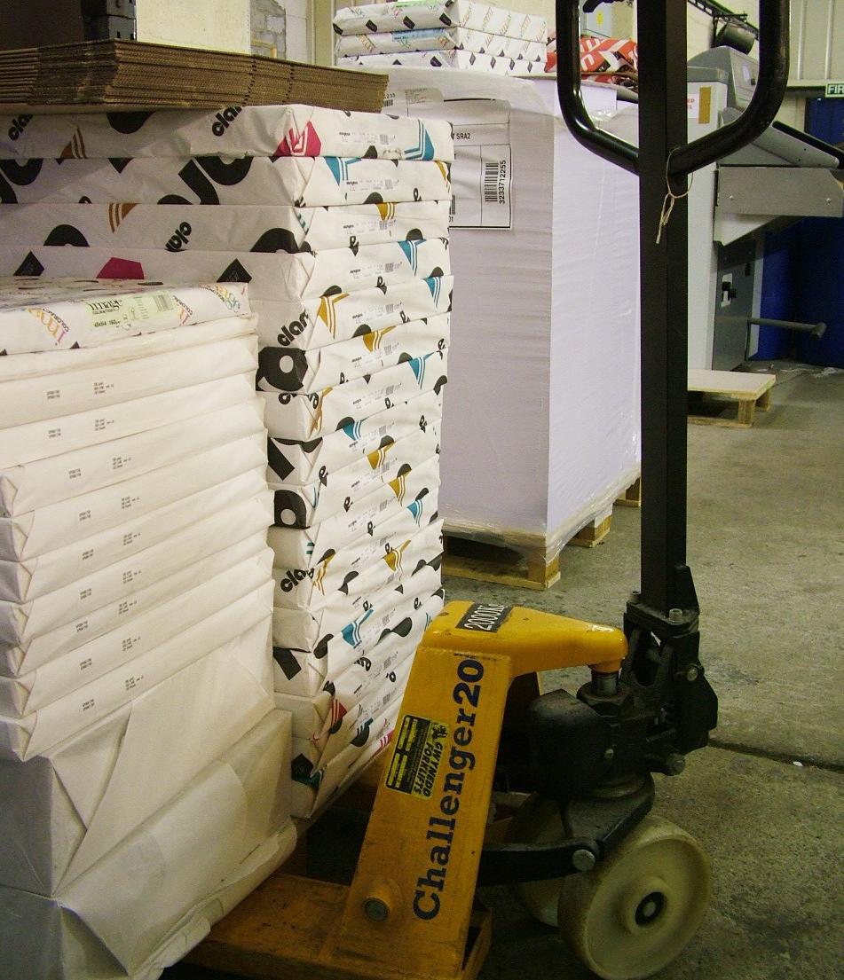 Printworks Paper stack