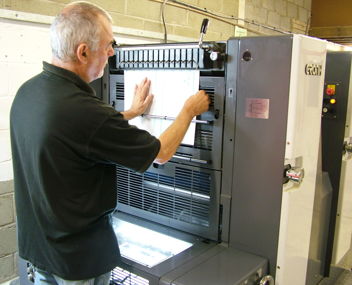 Printworks press operator