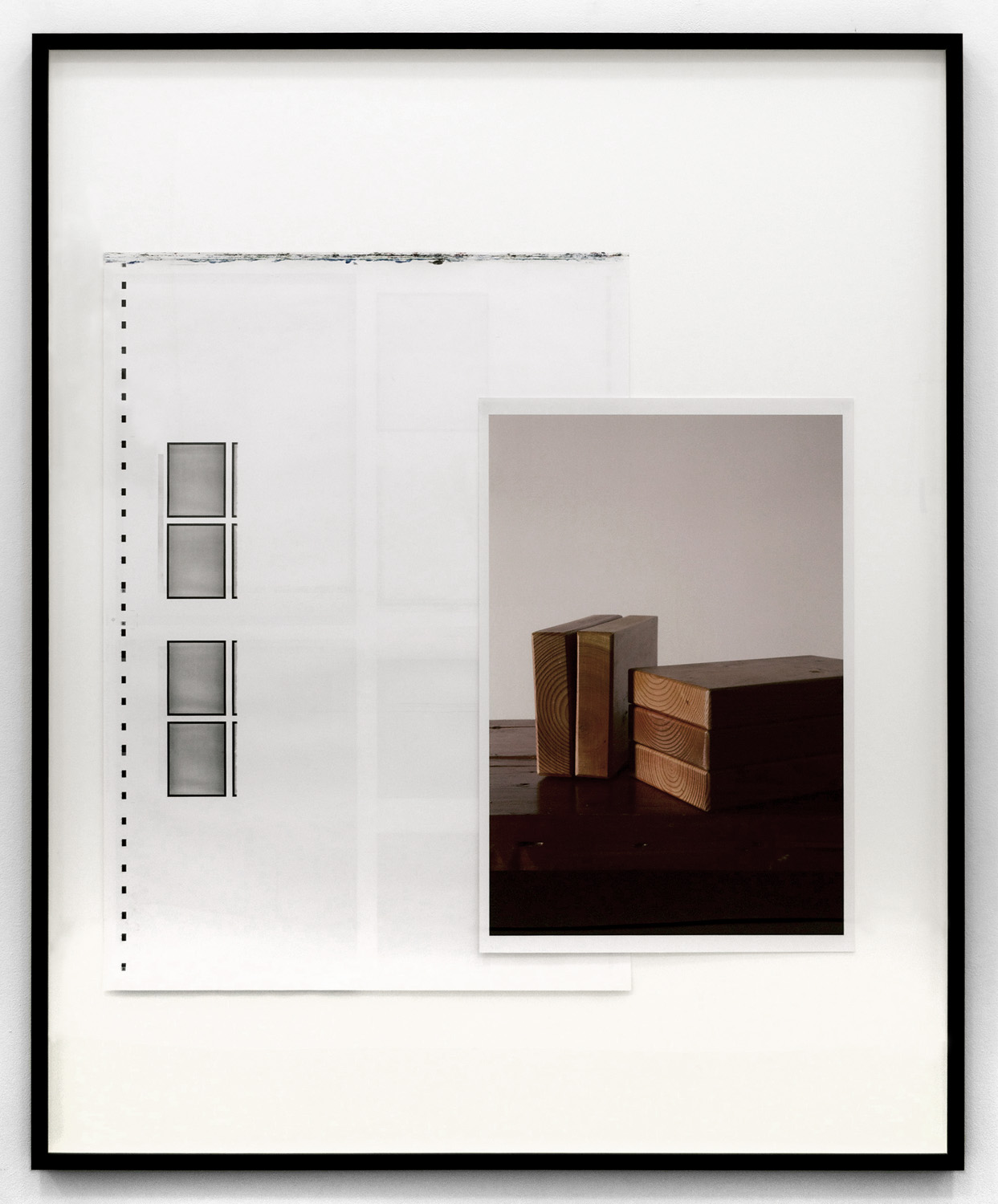 Running Sheet and Wood, 2012 offset and chromogenic prints 122 x 152,4 cm - 48 x 60 inches
