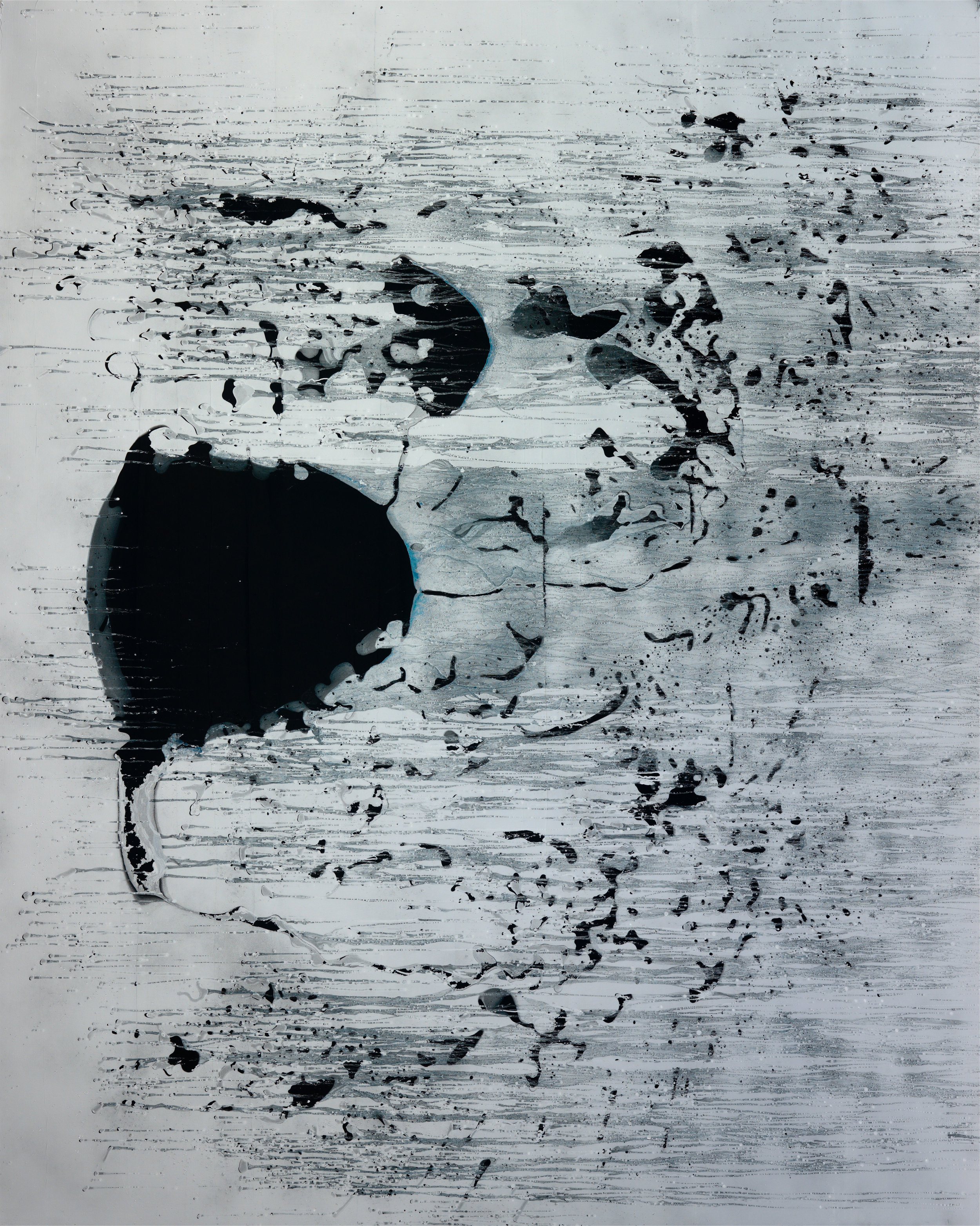 Untitled, 2009 oil and acrylic on canvas 250 x 200 cm - 98 3/8 x 78 3/4 inches