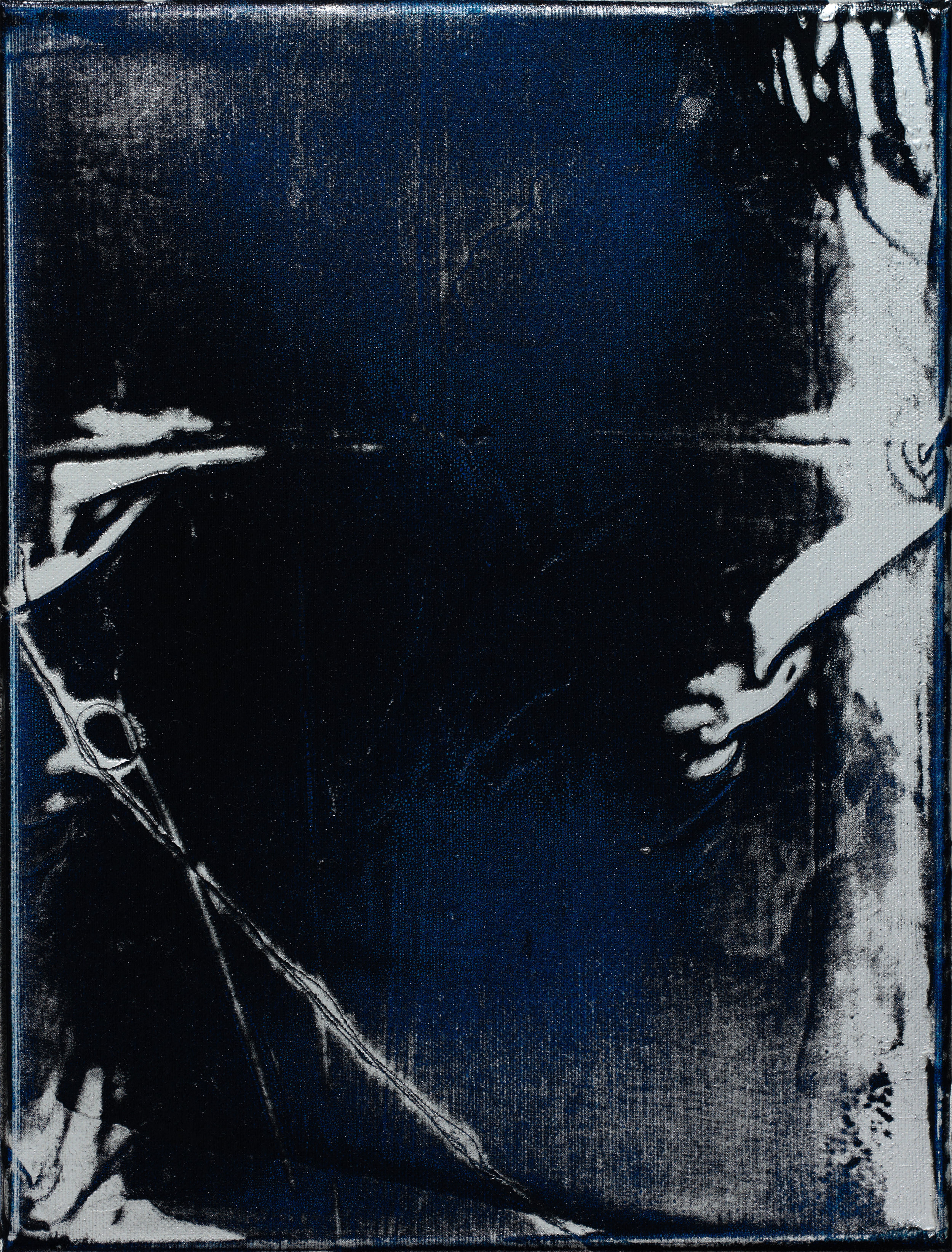 Untitled, 2009 oil and acrylic on canvas 35 x 27 cm - 13 3/4 x 10 5/8 inches