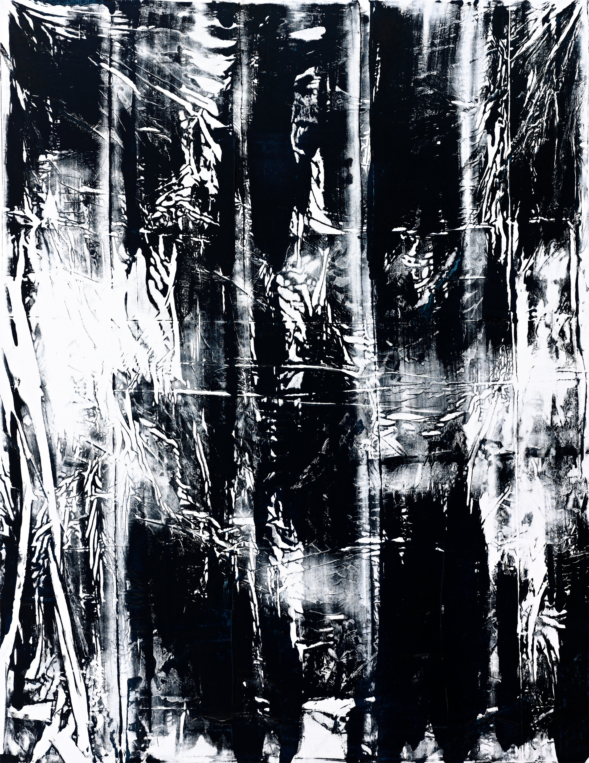 Untitled, 2009 oil on canvas 196 x 151 cm - 77 1/8 x 59 1/2 inches