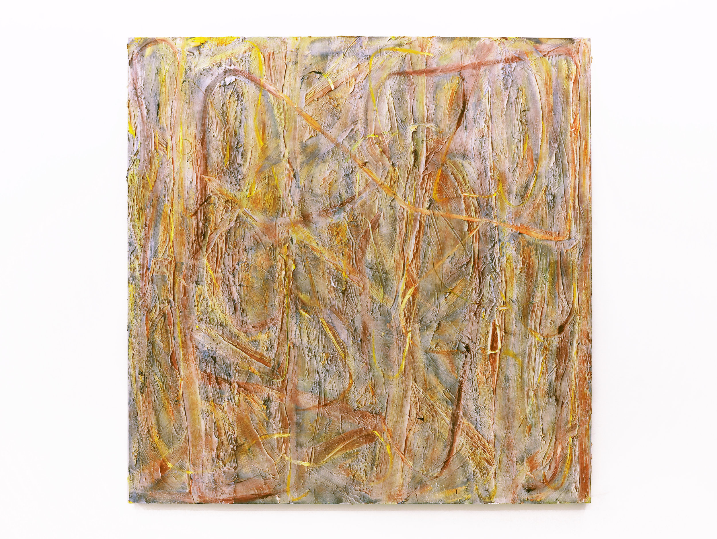 Pick, 2012 oil and spray paint on canvas 200 x 200 cm - 78 3/4 x 78 3/4 inches