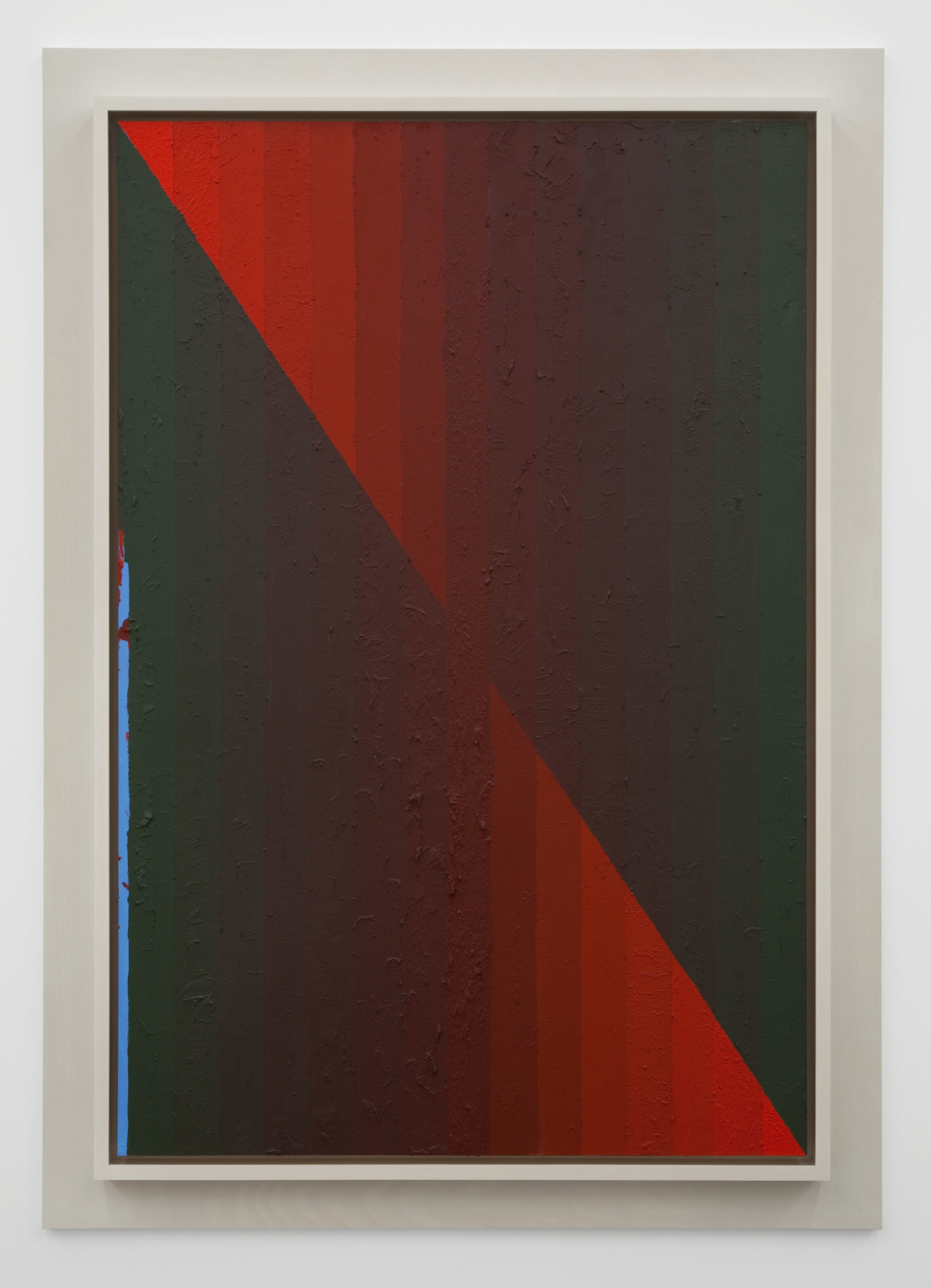 Execution Changes #47 (DS, Q1, ULJ, LC, Q2, LRJ, LC), 2012 acrylic on panel 158,7 x 113 cm - 62 1/2 x 44 1/2 inches