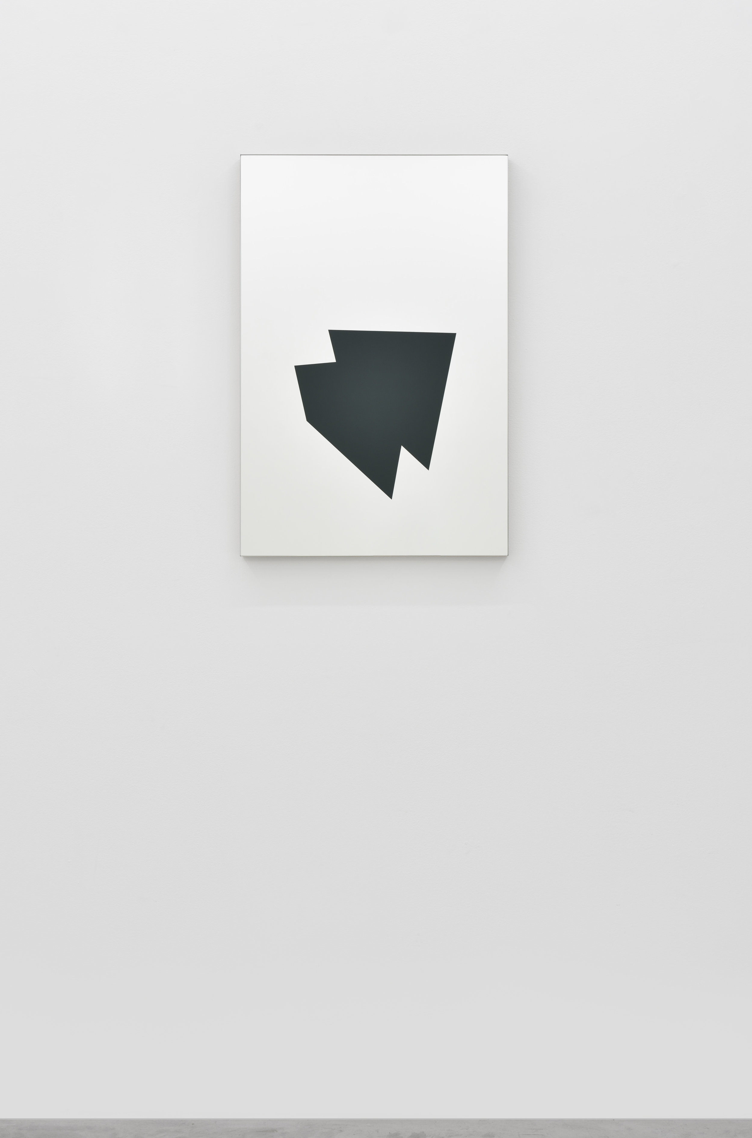 Mirage (25M #1), 2016 gloss paint on mirror 81 x 54 cm - 31 7/8 x 21 1/4 inches