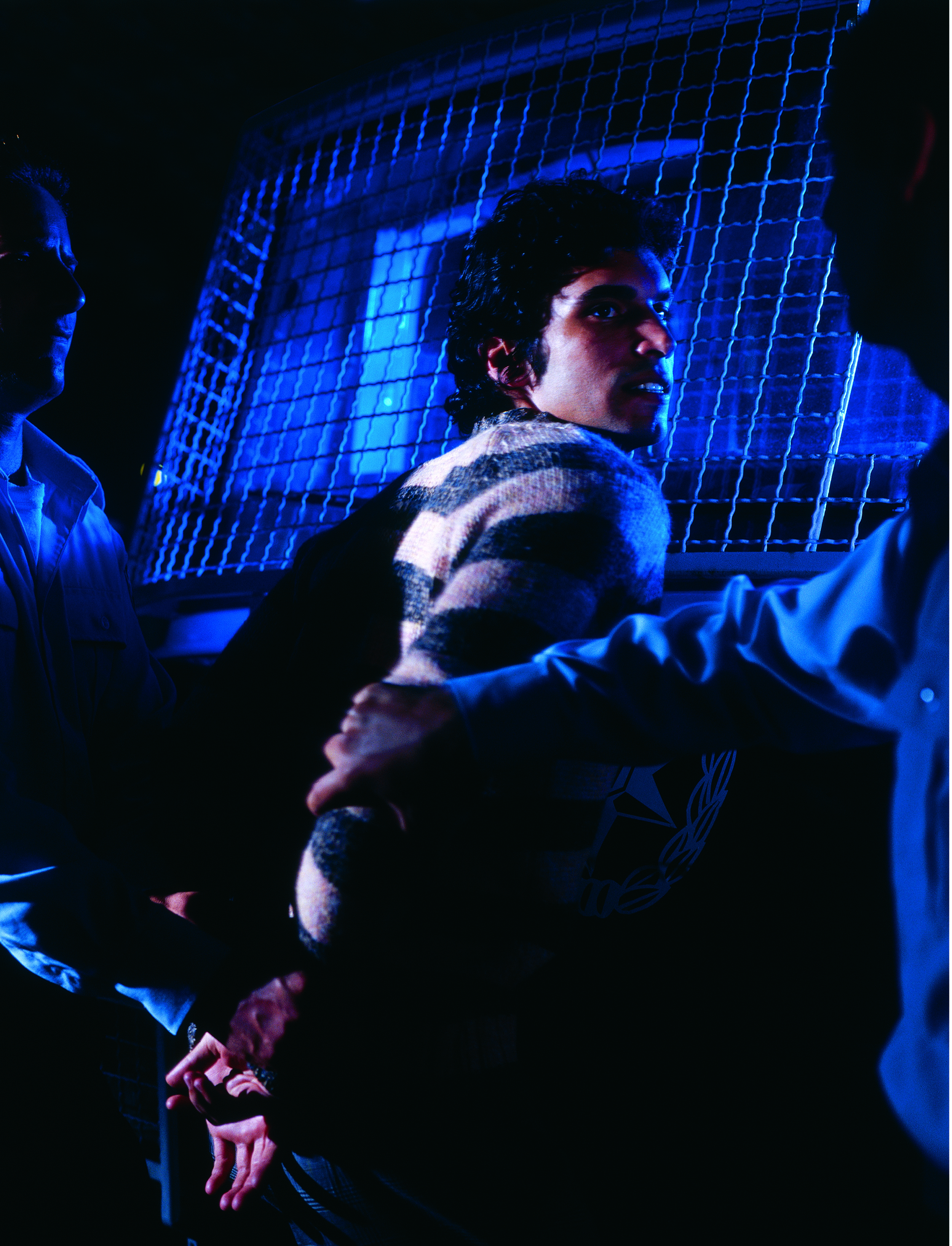 """""""Untitled"""" from the """"Prisoners"""" series, 2003 color photograph mounted on PVC edition of 10 123 x 90 cm - 48 3/8 x 35 3/8 inches"""
