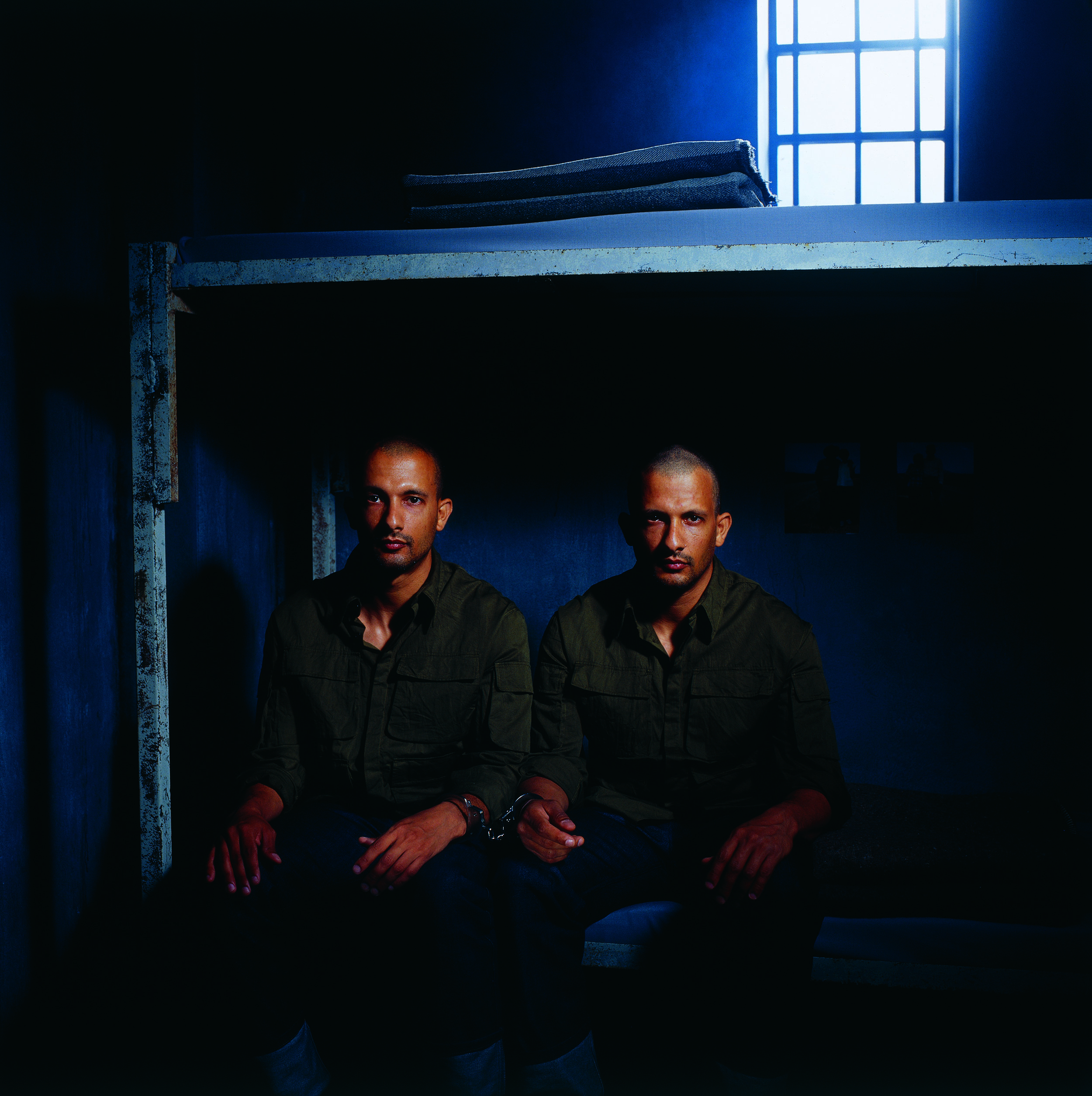 """""""Untitled"""" from the """"Prisoners"""" series, 2003 color photograph mounted on PVC edition of 3 125 x 125 cm - 49 1/4 x 49 1/4 inches"""
