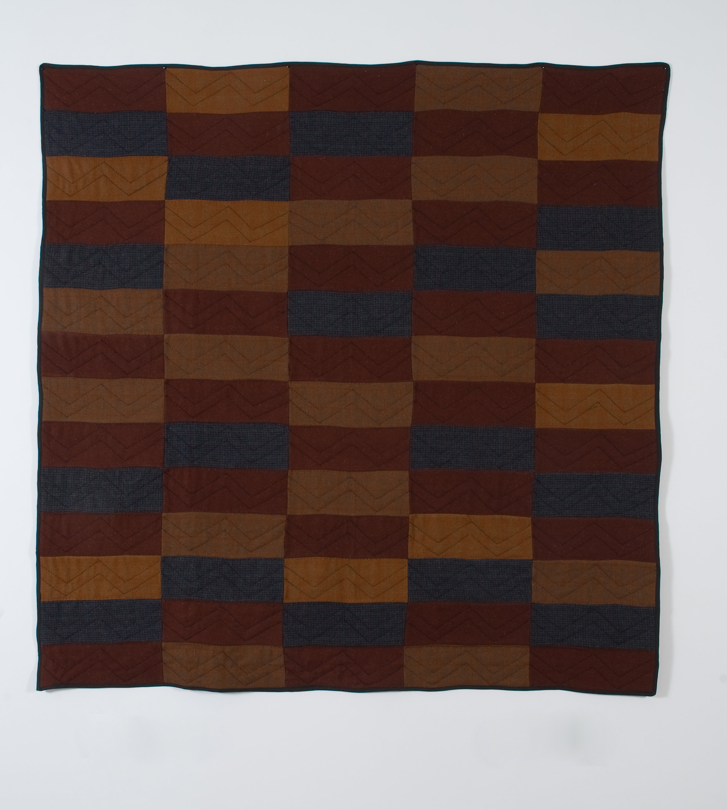 Brick, 2008 wool and cotton 192 x 189 cm - 75 1/2 x 74 3/8 inches
