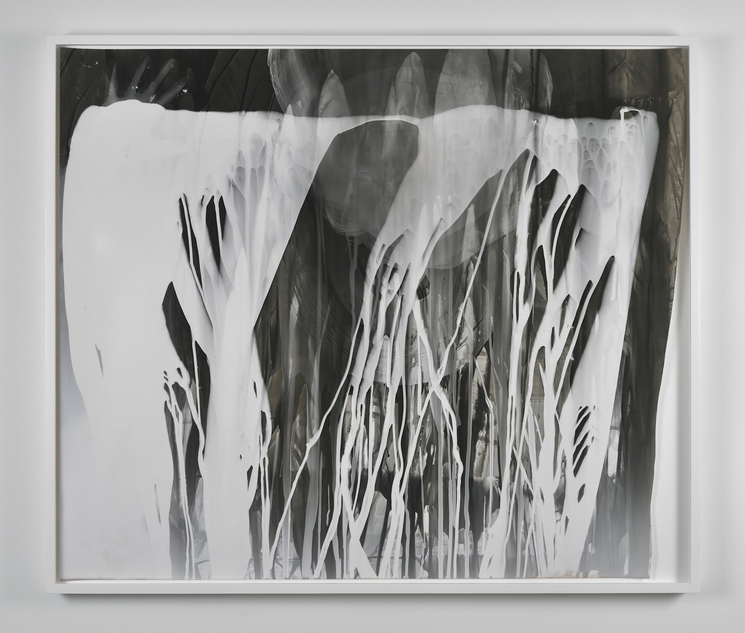 Photogram with Hand, 2011 gelatin silver print on resin coated paper 83 x 97,5 cm - 32 3/4 x 38 3/8 inches (framed)
