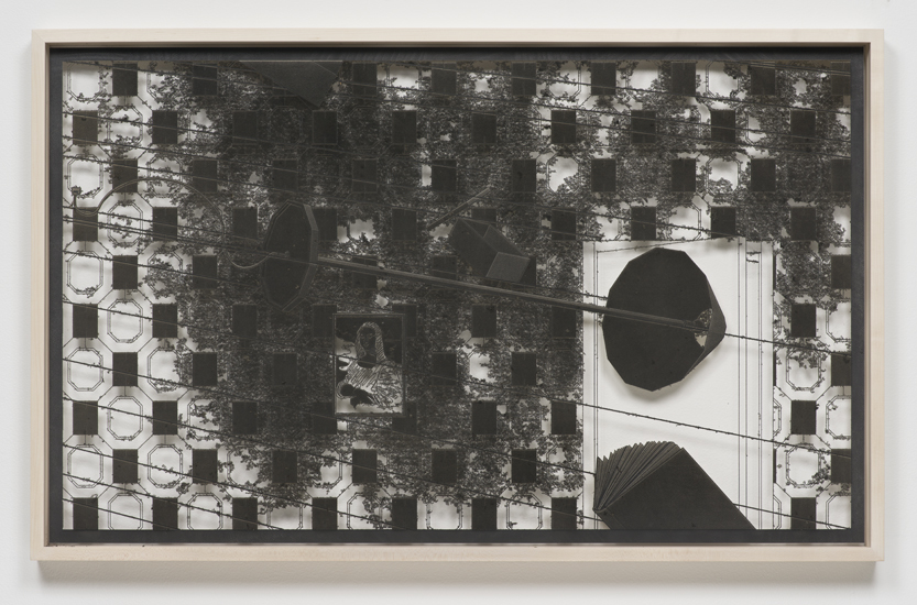 Outburst (Living Room), 2014 8 graphite on laser sculpted papers 72 x 120 x 5 cm - 28 1/4 x 47 1/4 x 2 inches (each)