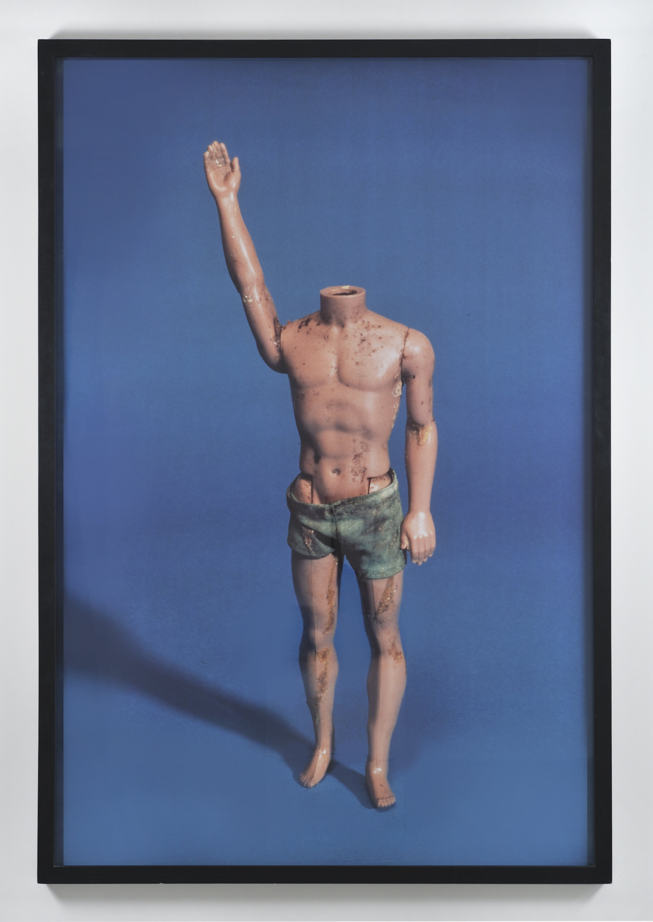 "Paul McCarthy, Ken with No Head (from ""Propo Objects"" / 1973-1983), 1992-1993 c-print ed. 1/3 190 x 127 cm - 74 3/4 x 50 inches"