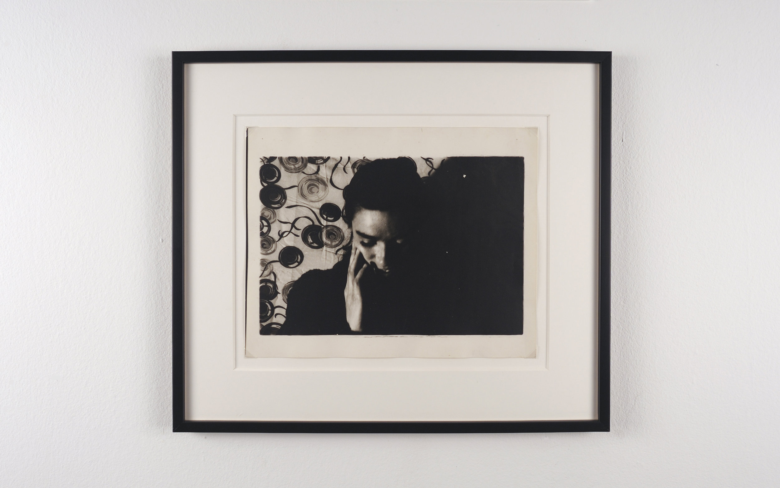 Jim Shaw, Untitled, 1978 black and white photograph 33 x 38 cm - 13 x 15 inches (framed)
