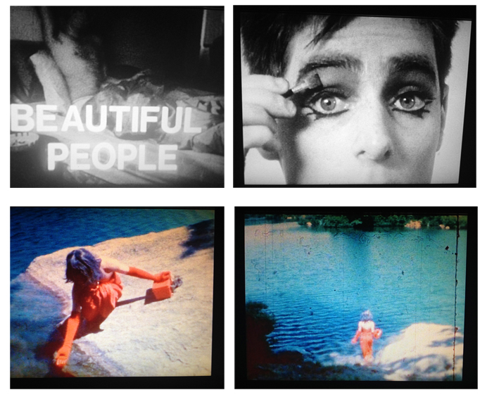 David Wojnarowics, Beautiful People, 1988 super-8 film transferred to DVD. B&W + color. silent. 34 min 11 sec Courtesy Jesse Hultberg. Estate of David Wojnarowicz & P.P.O.W