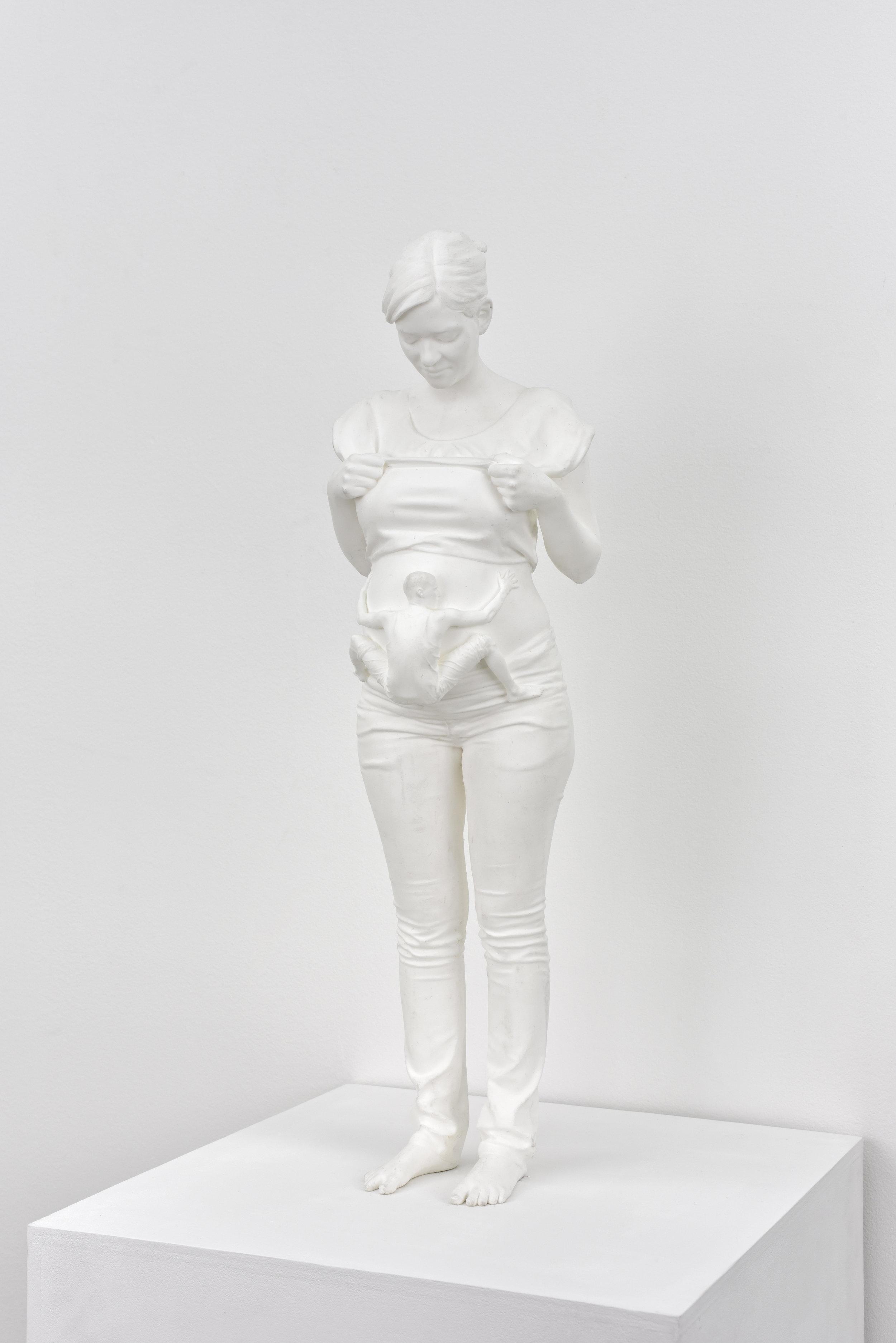 Fabien Mérelle, Aimant, 2015 resin 60 x 17 x 17 cm - 23 5/8 x 6 3/4 x 6 3/4 inches