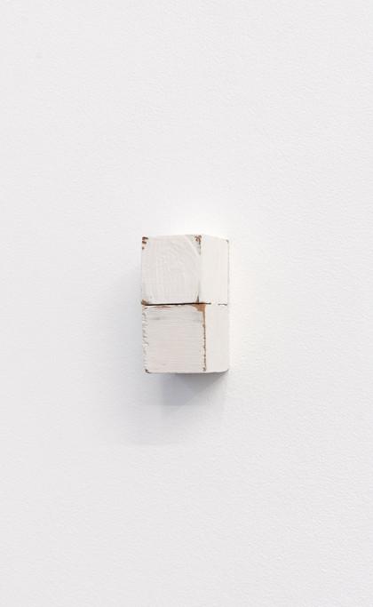 Fernanda Gomes, Untitled, 2012 wood and oil 6,6 x 3,3 x 3,2 cm - 2 5/8 x 1 1/4 x 1 1/4 inches