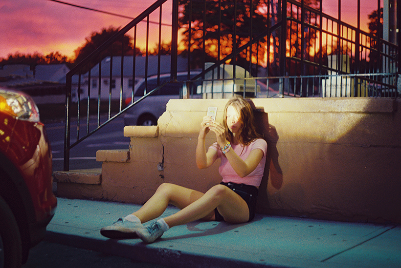 Petra Collins, Julia at Sunset, 2014 c-print 114,3 x 170 cm - 45 x 67 inches