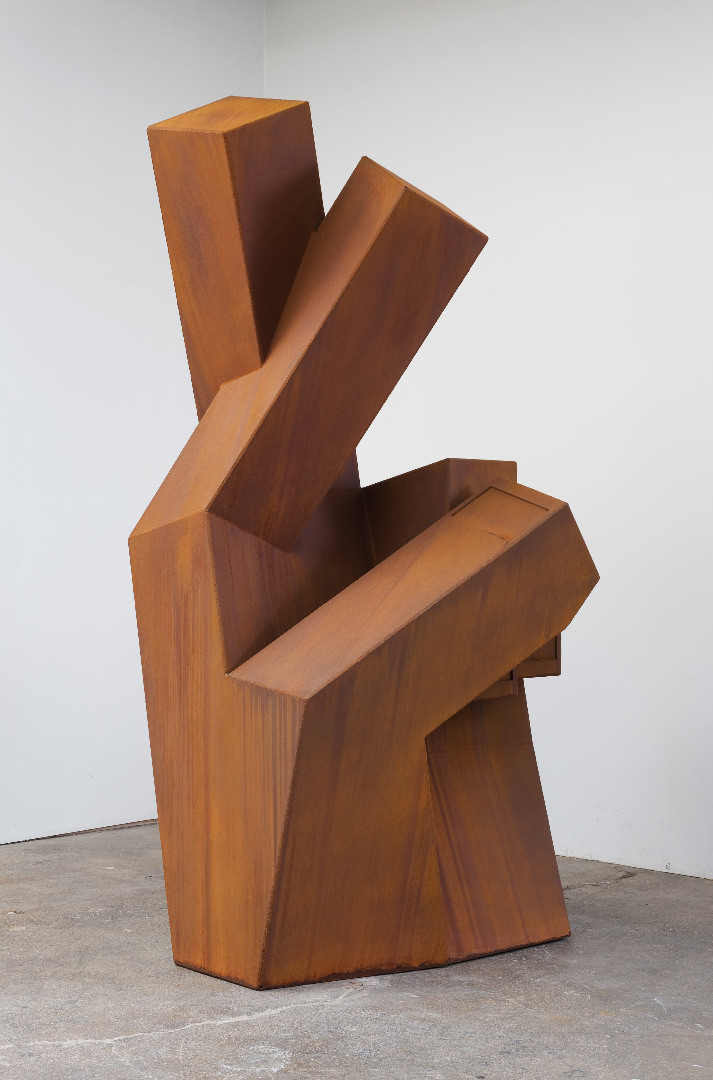 Heavy Handed (Crossed Obelisk), 2012 steel 216,7 x 137,2 x 119 cm - 85 3/8 x 54 x 46 3/4 inches