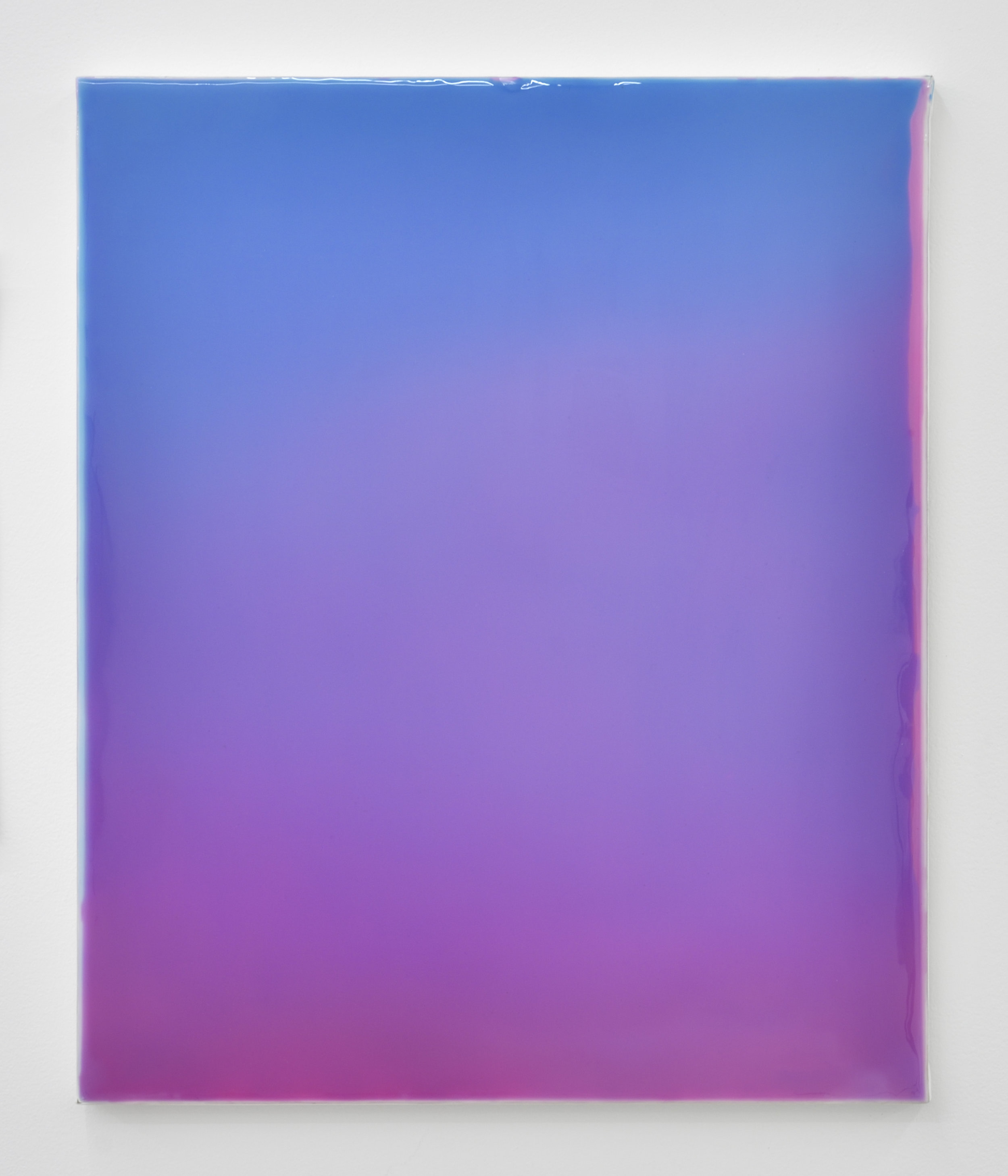Gilles Teboul, Untitled 1870, 2017 acrylic and resin on canvas 61 x 50 cm - 24 x 19 11/16 inches