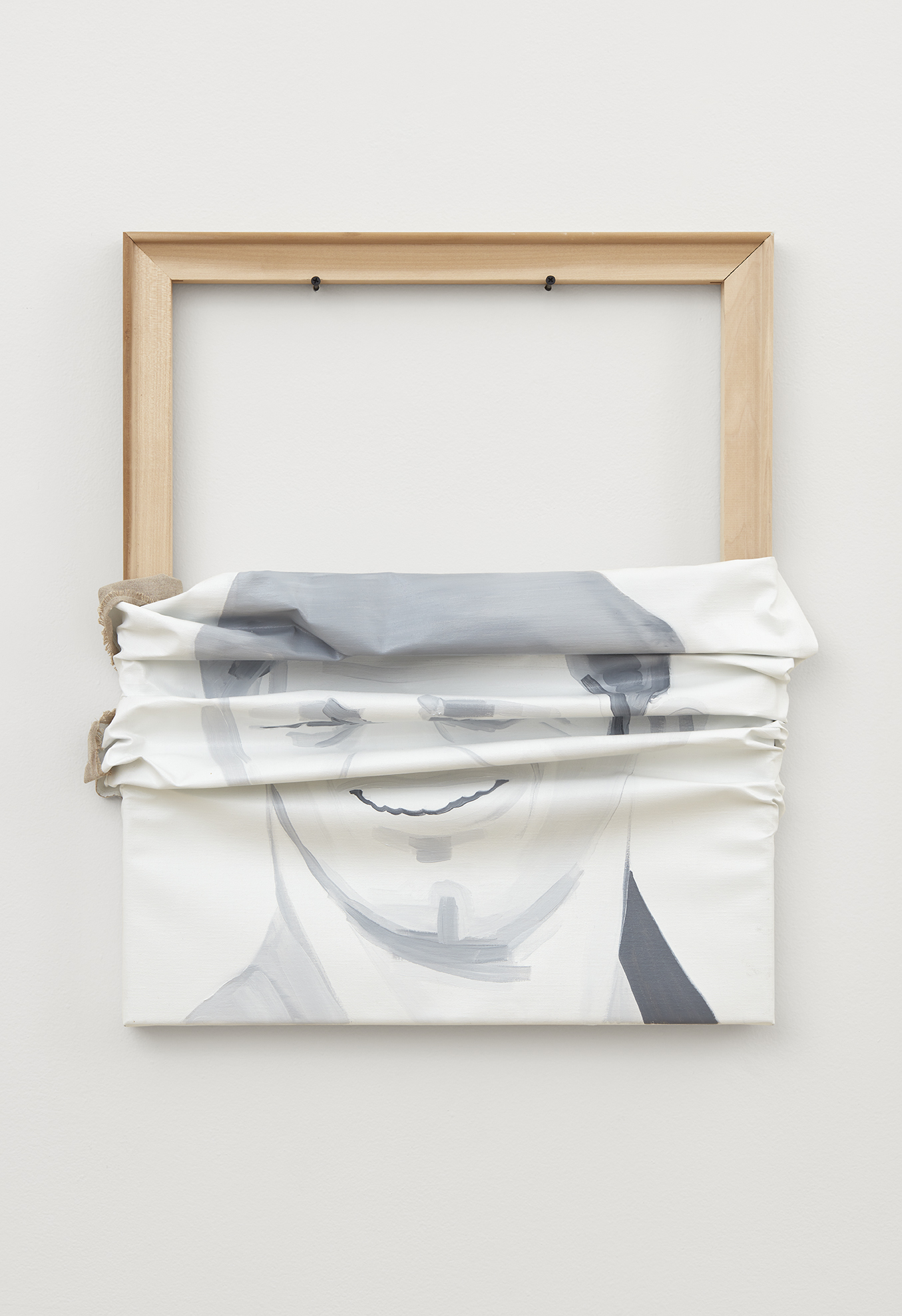 Jwan Yosef, Untitled, 2017 oil on canvas. quadriptych 68,6 x 56 cm - 27 x 22 inches (each)