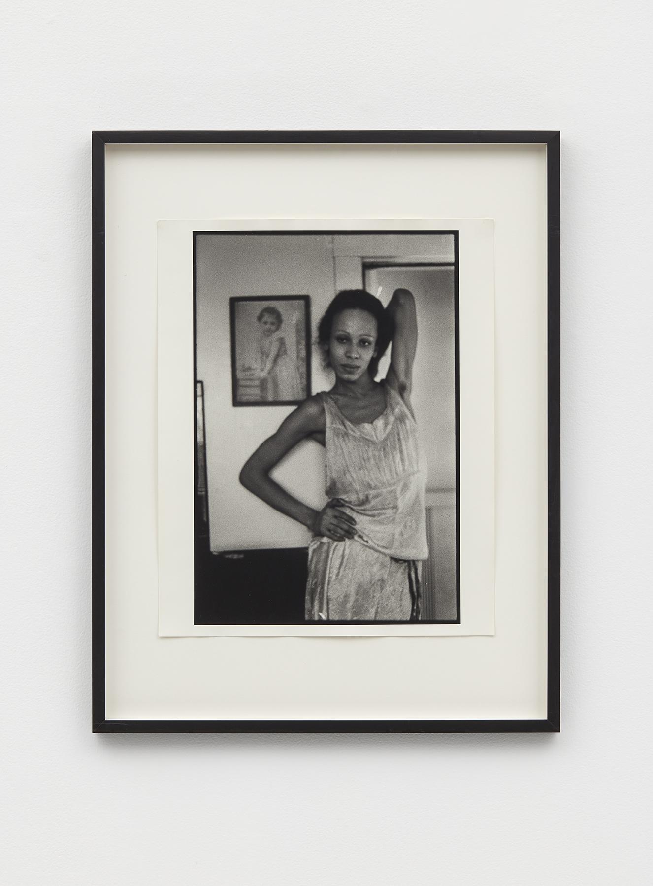 Nan Goldin, Bea in The Kitchen, 1972 silver gelatin print 72 x 56 cm - 28 11/32 x 22 1/16 inches (framed)