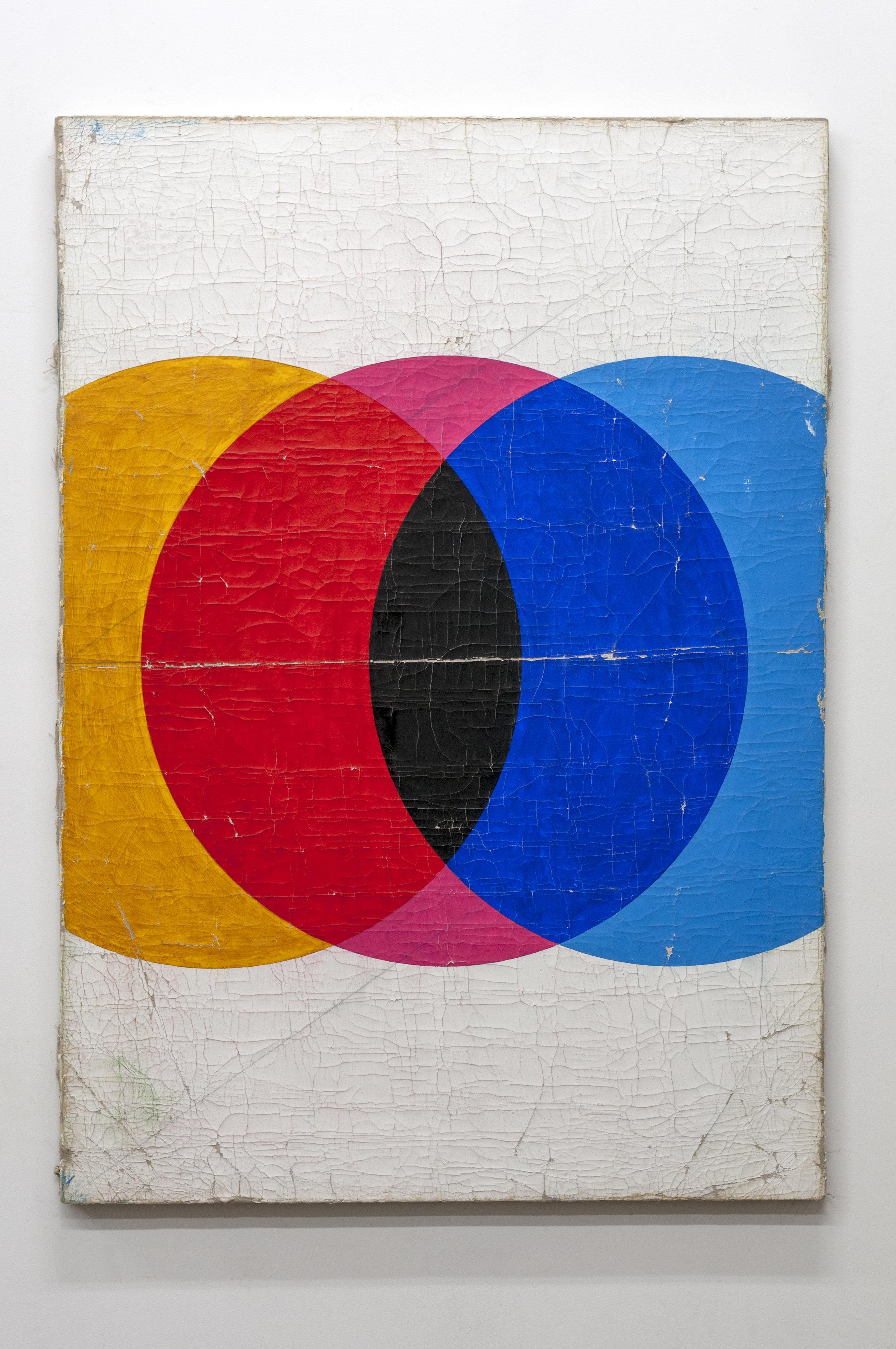 Dan Levenson  Hanni Reiff ,  2018 oil on linen 119 x 84 cm 46 27/32 x 33 1/16 inches