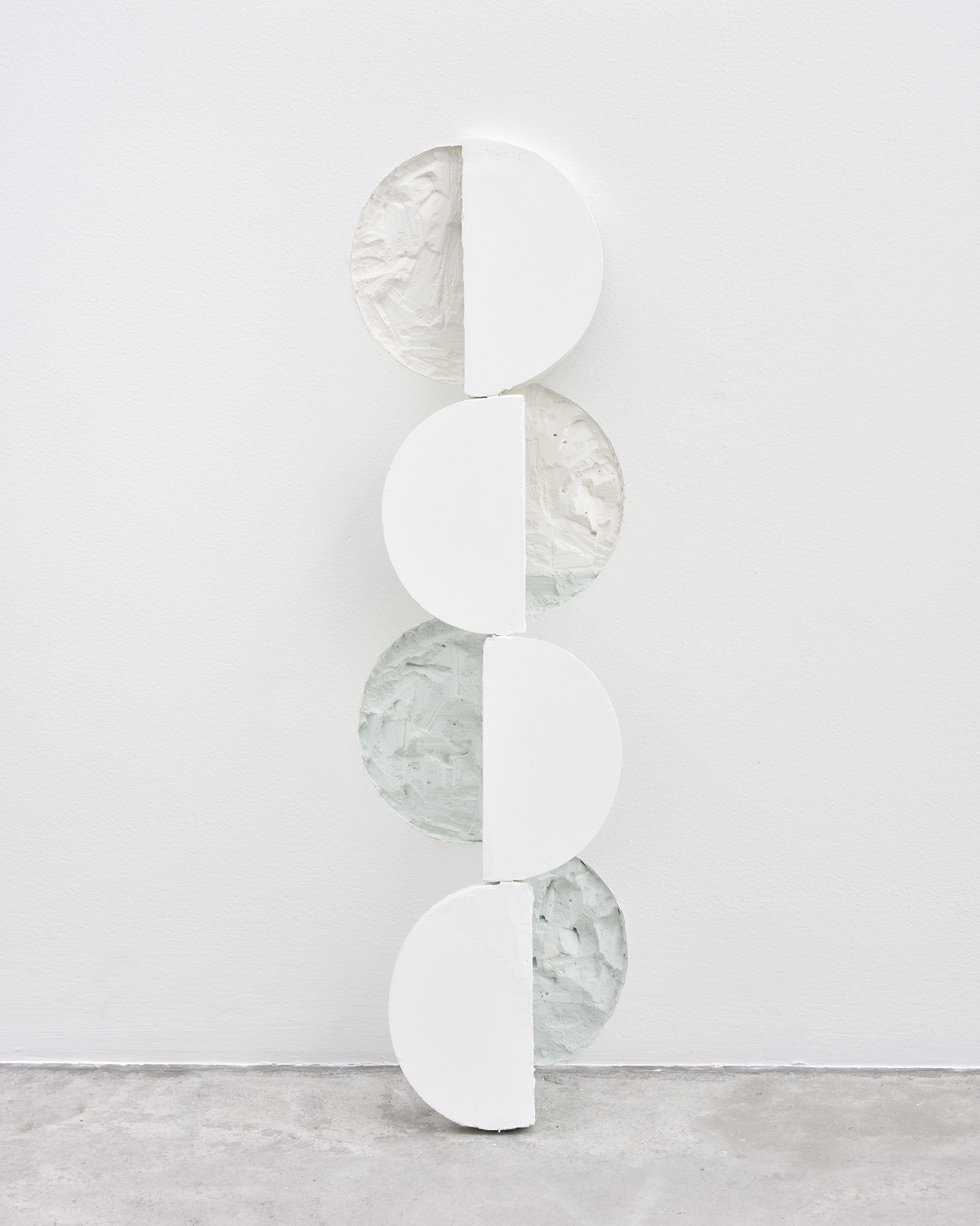 Manoela Medeiros  Excavation,  2018 Plaster and fragments of walls 69 x 18 cm 27 5/32 x 7 3/32 inches