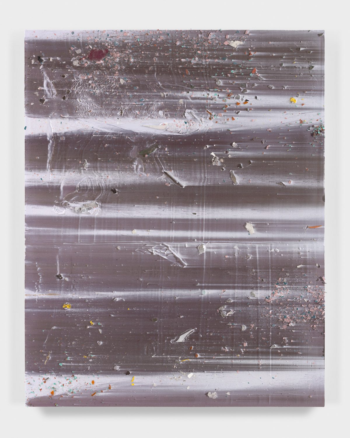 Untitled, 2017 mixed media on canvas 64 x 51 in / 162,6 x 129,5 cm