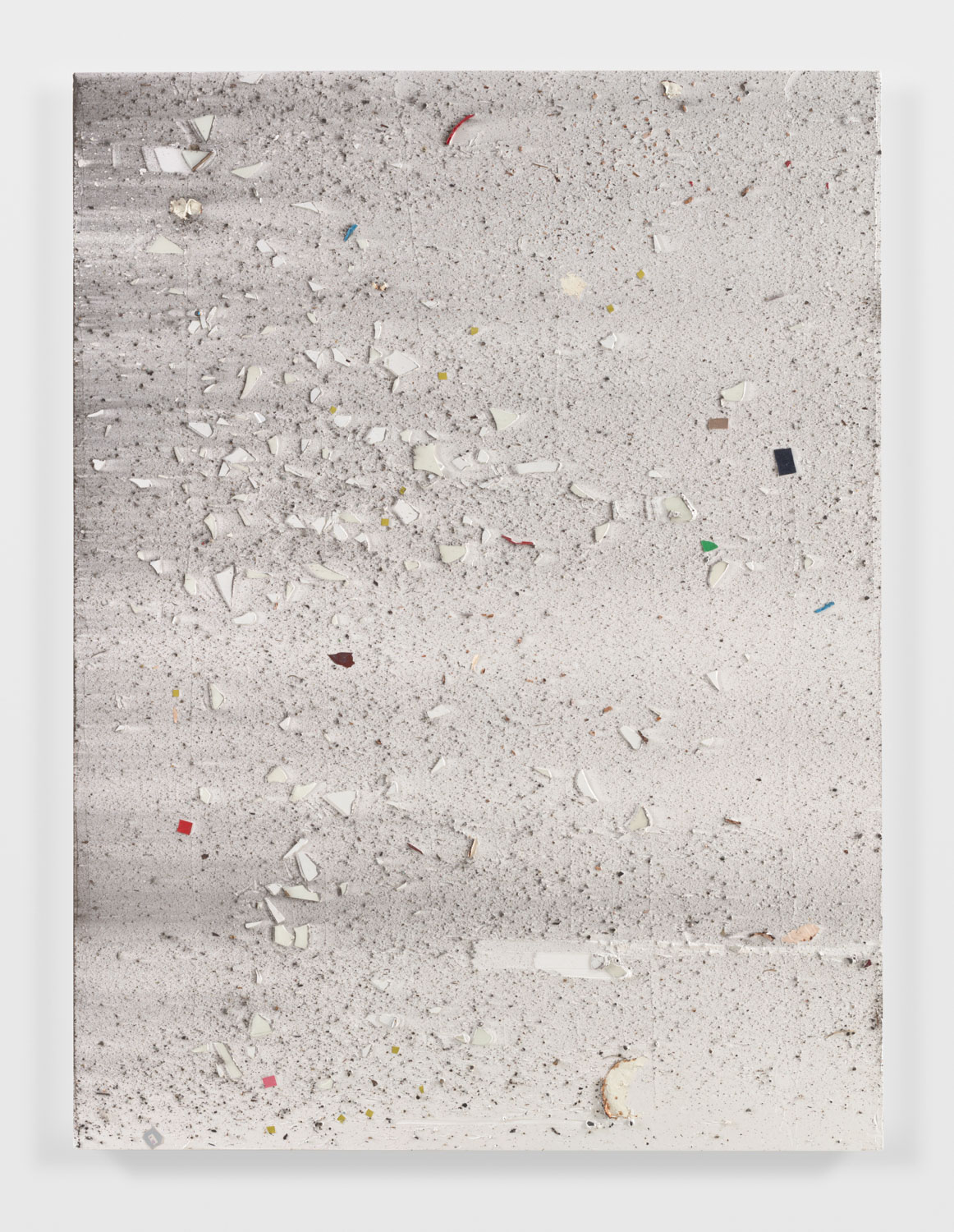 Untitled , 2015 mixed media on canvas 76 x 57 in / 193 x 144,8 cm