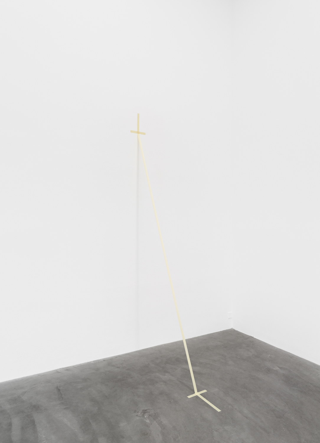 Tensegrity, 2018 paper tape installation Dimensions Variable