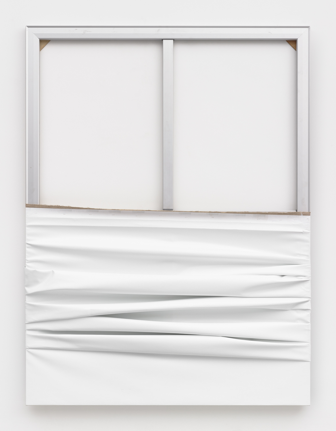 Object, 2018 oil on linen and aluminium 72 x 54 in / 182,9 x 137,2 cm