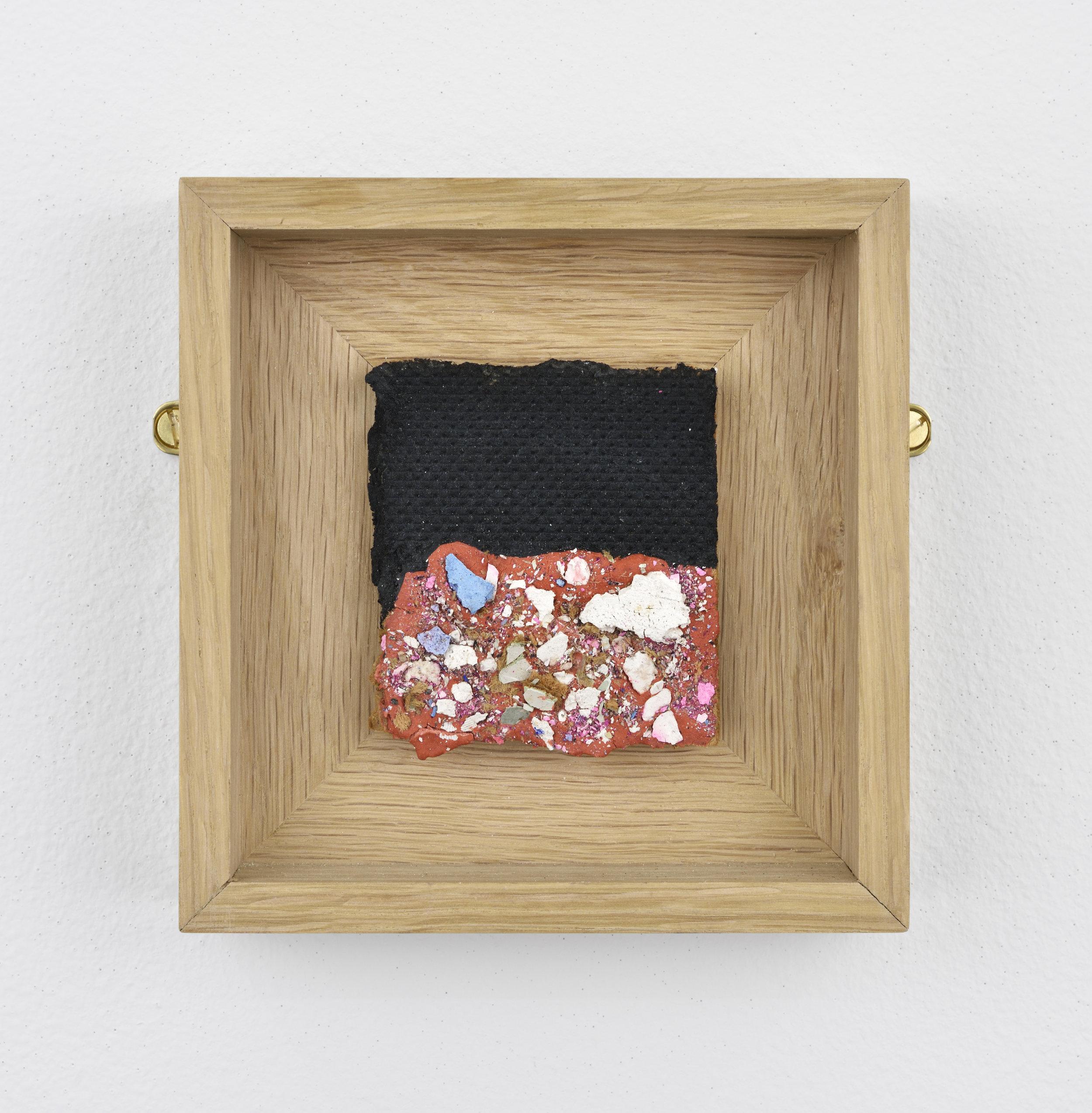 Niki de SAINT PHALLE Bits 2, 1960 plaster, paint and vatious objects on isorel 4 23/32 x 4 17/32 x 1 5/16 in (12 x 11,5 x 3,3 cm) Courtesy: Niki Charitable Art Foundation et Galerie GP&N Vallois, Paris