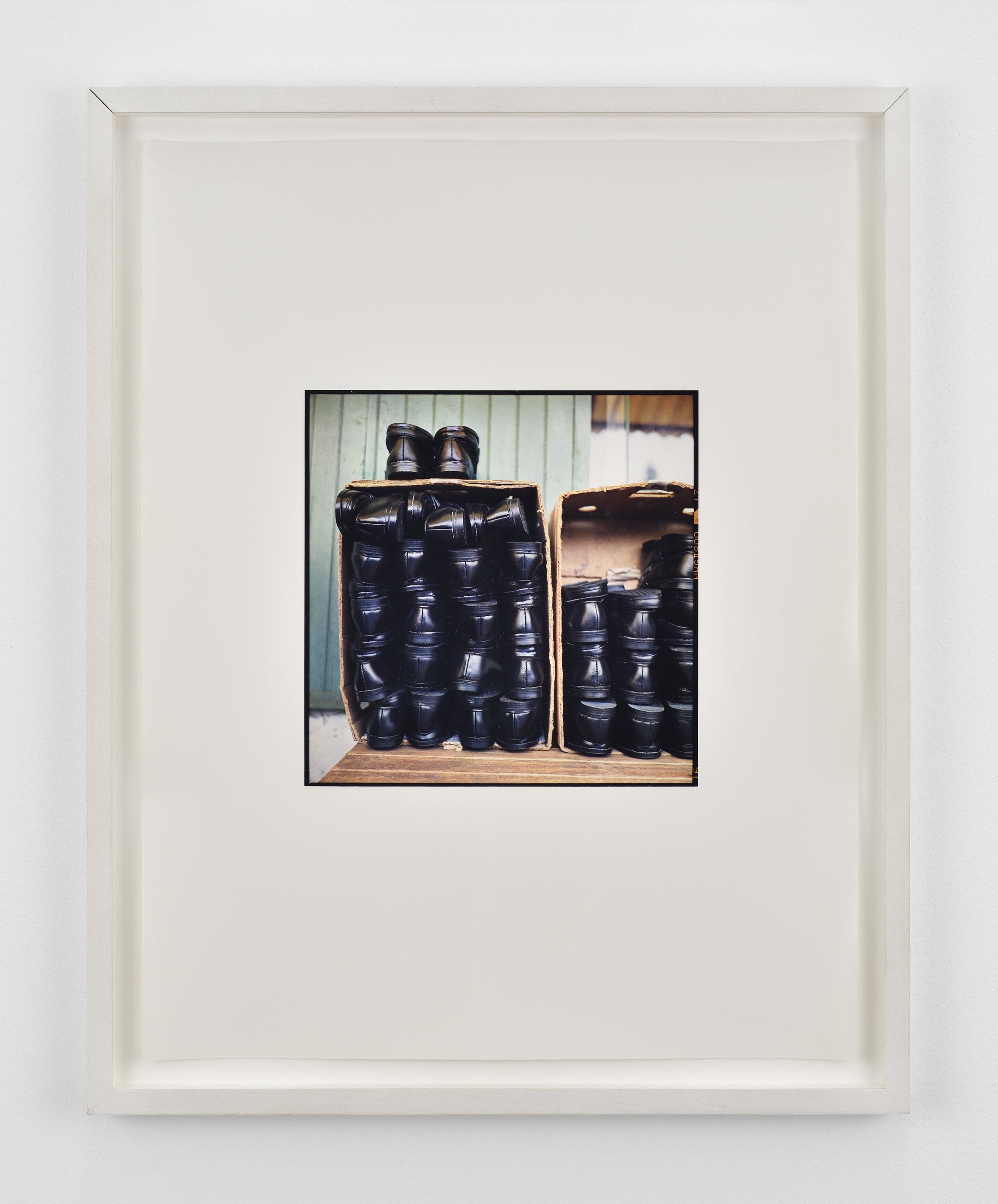 Zoe Leonard Shoes, 2000/2001 dye transfer print 22 x 18 in (55,9 x 45,7 cm) Edition of 6