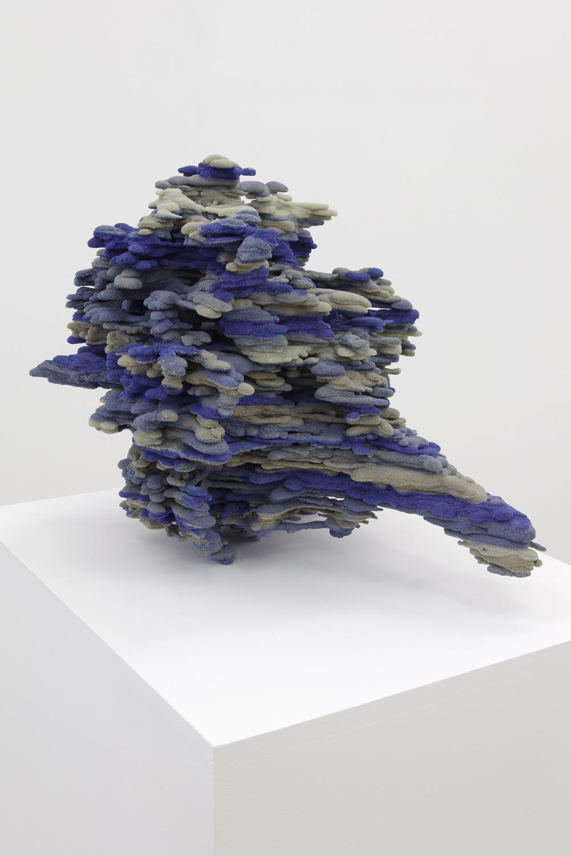 Dwyer Kilcollin   Bouquet Edda Elder , 2015 Resin, feldspar, calcium carbonate, quartz, silica, glass, lazurite 24 x 19 x 18 in - 61 x 48,3 x 45,7 cm