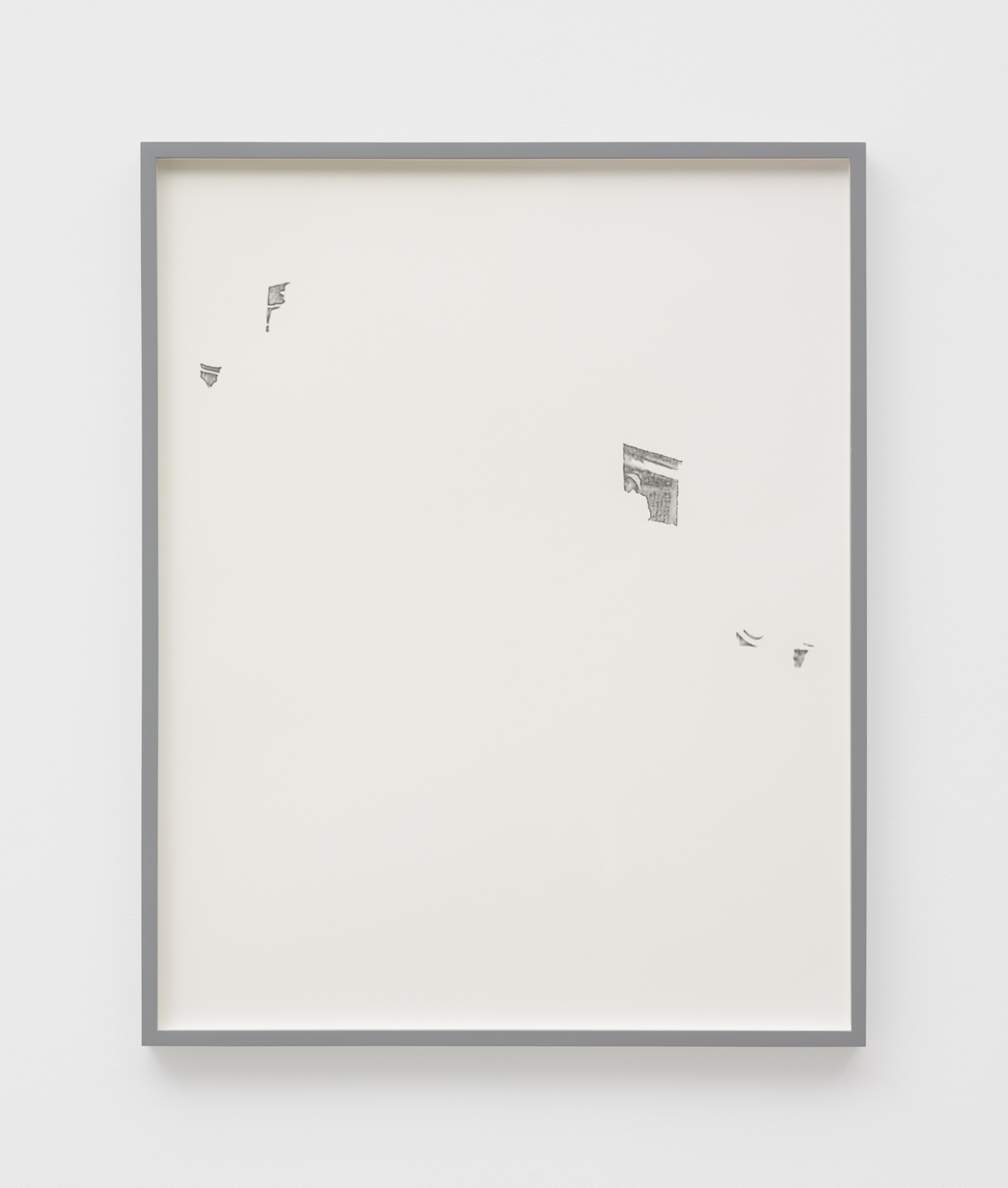 Untitled , 2017 graphite on paper 28 27/32 x 22 15/16 in (73,25 x 58,25 cm)