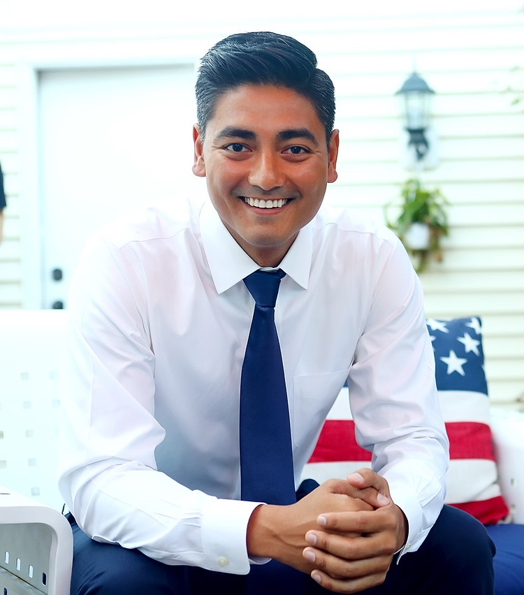 Democratic candidate for the 1st Congressional District Aftab Pureval. Photo published by his campaign